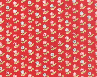 Vintage Picnic Rosie Red by Bonnie and Camille for Moda, 1/2 yard, 55121 11
