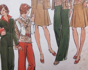 Butterick 3351 Womens size 16 Jacket Vest Skirt & Pants Uncut