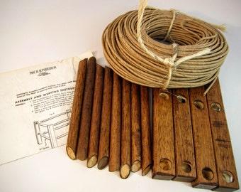 HH Perkins Foot Stool Weaving Kit