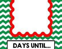 Free Printable North Pole Christmas and Days until....Merry Christmas