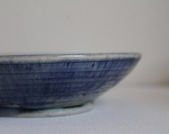 Clear and cobalt textured plate