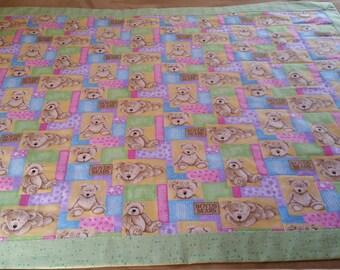 Boyd Bears Baby Quilt / Handmade
