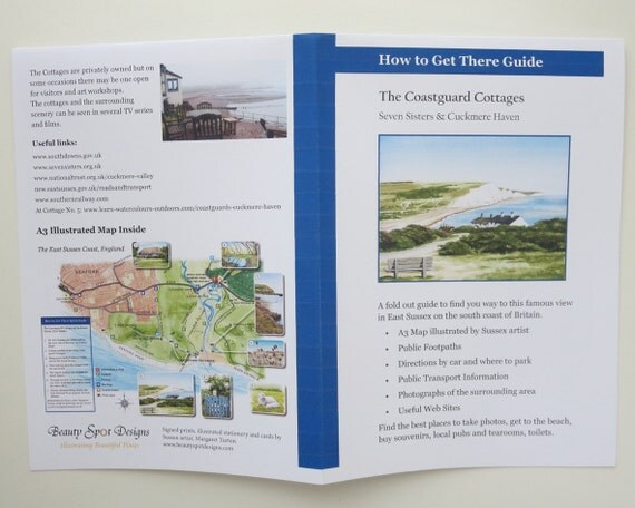 How to Get There Download - Coastguard Cottages, Sussex