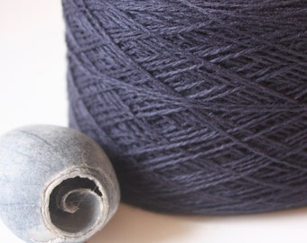 Coastal Col: 47 Bluestone Lambswool-Cotton Blend