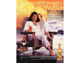 Vintage 1988 advertisement for  Cuervo Tequila - 209