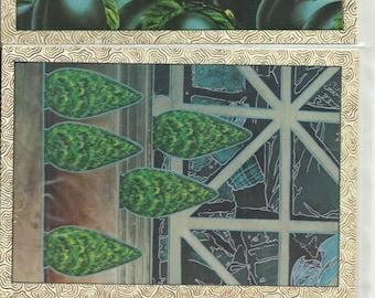 Lot of TWELVE 1980's UNUSUAL Postcards. Various Themes. William Rowe's Surreal Postcards