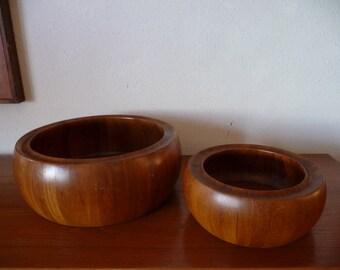 Digsmed Teak Bowls