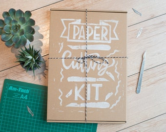 Papercutting starter kit, an introduction to the art - paper cut templates