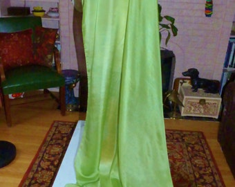 Silk Belly Dance VeilPastel Pistachio Green Bellydance Veil Light Green silk Veil