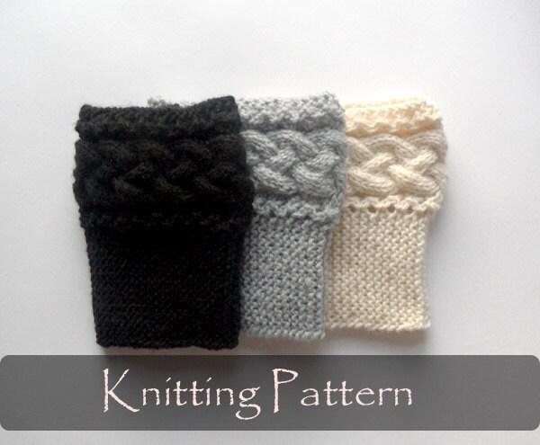 Boot Cuffs Knitting Pattern Boot Cuffs Baiaomq
