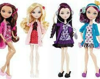 Custom ever after high doll