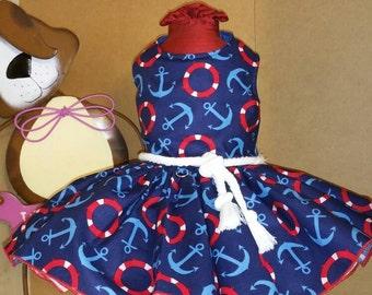 Ahoy Matey Dog Dress