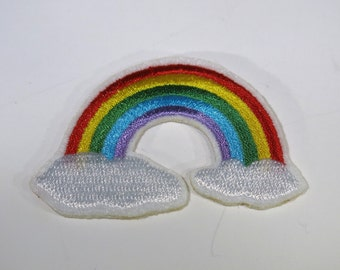 "Iron-on ""rainbow"", patch, applique, application (P2)"