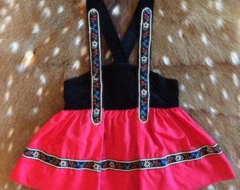 Swiss Miss Dress Size 2T