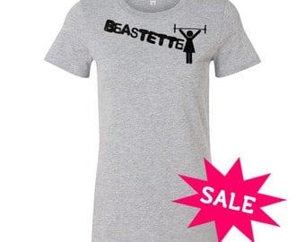SALE! BeastEtte Barbell Tee S