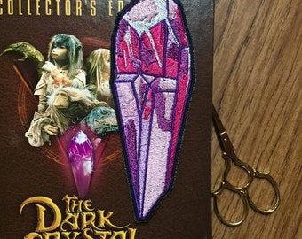 Dark Crystal 5.75x2in. Sew-on patch
