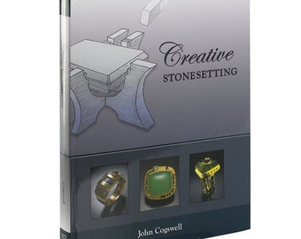 Creative Stone Setting Book John Cogswell Diamond Gemstone Ring Setting Wa 580-047