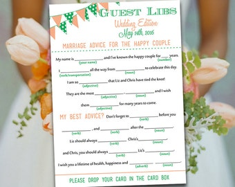 guest libs wedding edition template - diy wedding information card template please by