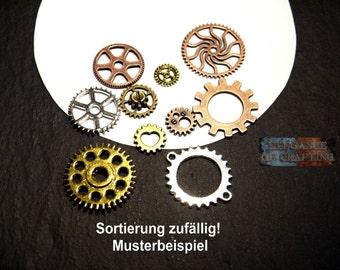 Charms Gear, Charm Gear, pendant, Steampunk, jewellery, jewellery making, accessory, jewellery craft, jewellery material, making