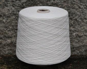 Bamboo + cotton yarn on cone, per 100g