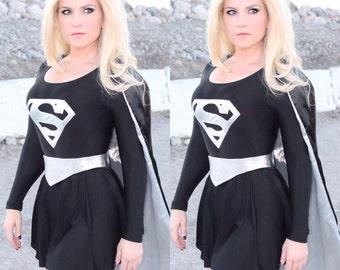 Dark Supergirl Costume Evil Bad