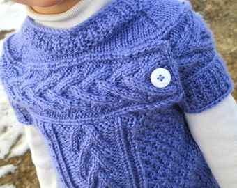 KNITTING PATTERN PDF sweater - Knit pattern sweater - Knit sweater pattern - Child's Sweater - Baby sweater