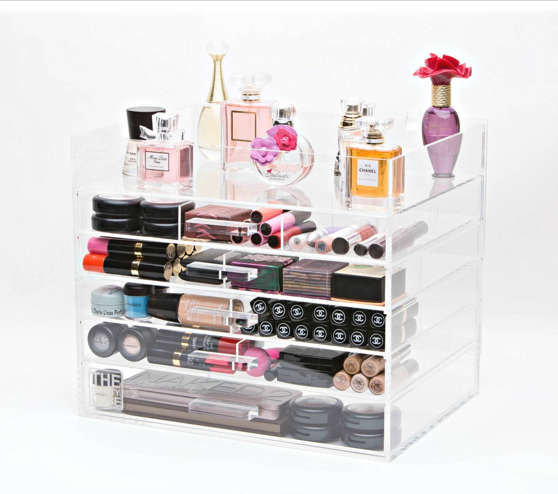 makeup organizer 6 tier acrylic makeup organizer makeup. Black Bedroom Furniture Sets. Home Design Ideas