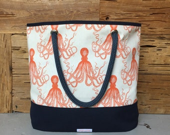 Octopi Tote Large