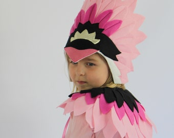 The Flamingo - Handmade Children's Costume