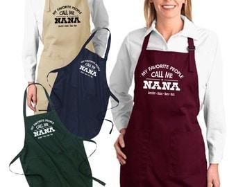 Nana apron | Etsy