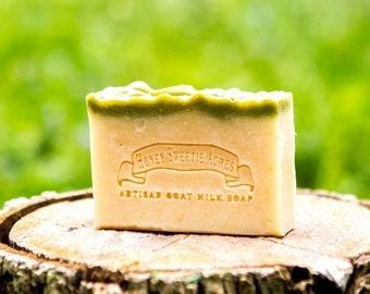 Eucalyptus-Spearmint Essential Oil Soap