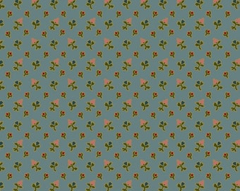 Georgetown Ditsy Flowers Blue - 1/2yd