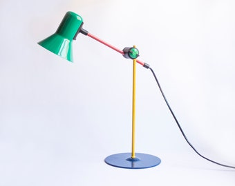 Tabletop Desk Lamp Brand Veneta Lumi. Made in Italy.