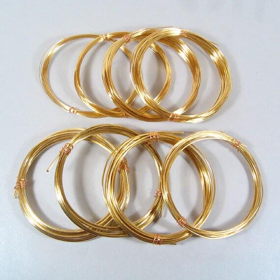 Copper Wire Bundle : Big bundle red brass wire