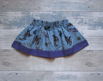 Girls Cowgirl Skirt, Girls Skirt, Girls Clothes, Kids Clothes, Polka Dots, Cowgirl, Summer Skirt, Party Skirt