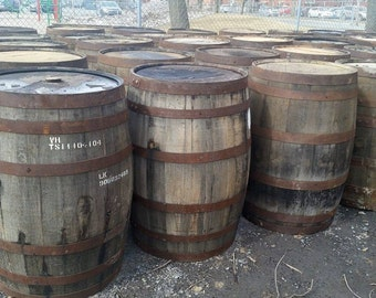Nice  whisky barrel Delivery only in Quebec