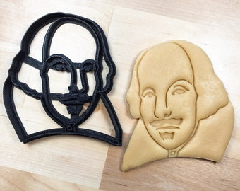 William Shakespeare Cookie Cutter