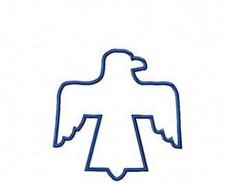 Thunderbird - Aztec -   3 Sizes - Applique/Embroidery Design -   DIGITAL Embroidery DESIGN