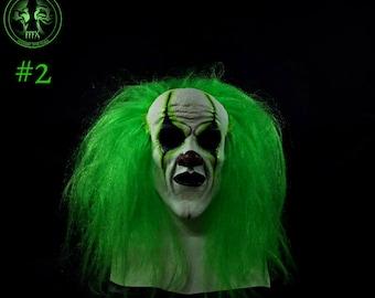 Kranky Clown Mask Green