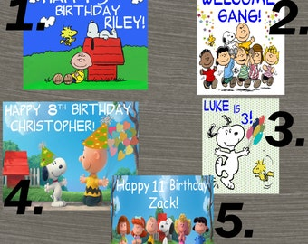 Peanuts Birthday Decoration, Buy one get one free