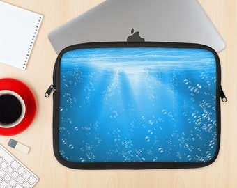 The Under The Sea Dye-Sublimated NeoPrene MacBook Laptop Sleeve Carrying Case