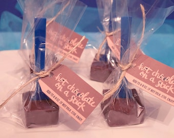 Hot Chocolate Mix on a Stick – 4 per order
