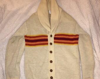 Pendleton Shawl Collar Cardigan