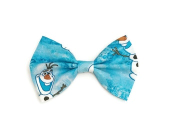 Frozen Hair Bow • Olaf Hair Bow • Stocking Stuffer • Frozen Gifts • Christmas Gifts • Disney Hair Bow • Disney Frozen Gifts • Gifts under 10
