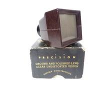 Mid Century Slide Viewer Zadiix Junior 35 mm Film Viewer - Zadiix Slide Strip Viewer Vintage 1950s