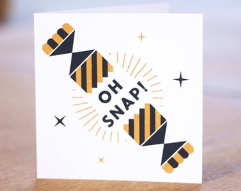 Oh Snap - Christmas Greetings Card Collection
