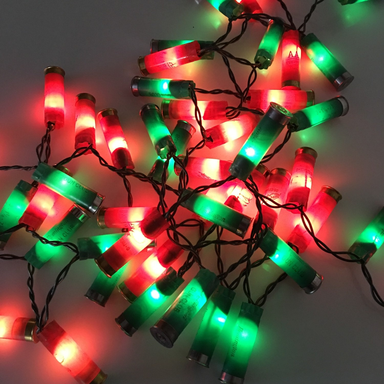 Shotgun Shell Lights 50 Count Light String Party Lights