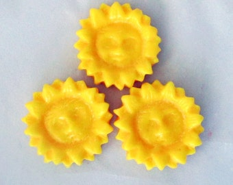 Sunflower wax tarts, candle tarts, scented soy candle, tart melts, decorative candle, candle melters, flameless candle, soy tarts