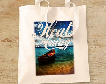 Boat tote bag | Etsy