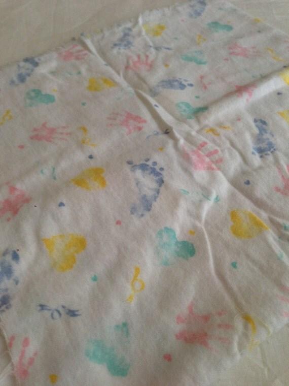 Items similar to baby print flannel nursery flannel for Baby nursery fabric yard
